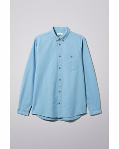 Weekday Bad Times Shirt Blue