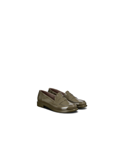 Hunter W Origi Penny Loafer Swamp Green