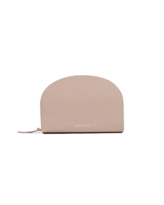 Galax Curve Evening Bag Beige