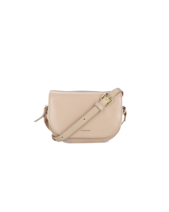 Raf Curve Evening Bag Beige