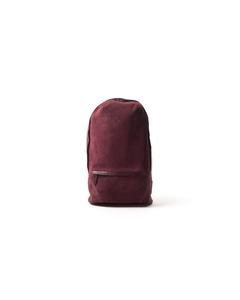 Encore Backpack Mini Suede  Bordeaux