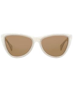 Yohji Yamamoto Mint Women White Sunglasses Yy5022 55808 55-16-140 Mm