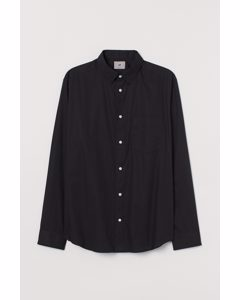 Premium Cotton Shirt Black