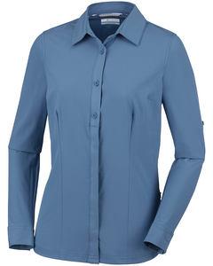 Saturday Trail™ Stretch Ls Shirt Blue Dusk