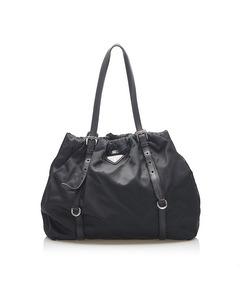 Prada Tessuto Tote Bag Black