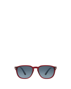 Po3019s Transparent Red Solglasögon