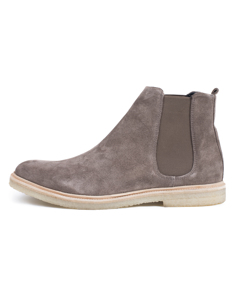 Cast Crepe Chelsea Suede - Taupe