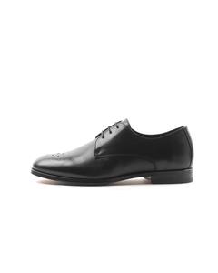 Cast Derby Shoe Classic Brogue - Black