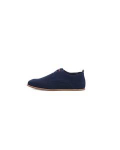 Evo Derby Shoe Suede - Navy