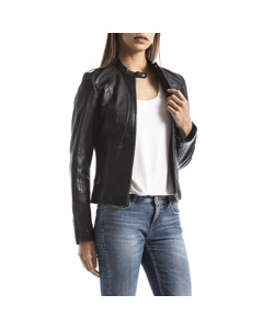 Leather Jacket Alazeia
