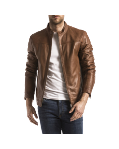 Leather Jacket Bayon