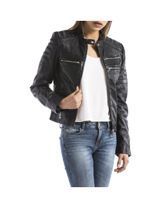Leather Jacket Capucine