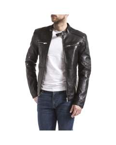 Leather Jacket Idannus