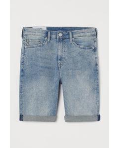 Freefit® Slim Shorts Hellblau/Trashed