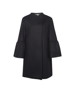 French Connection - Cashmere Coat With Long Sleeves - Woman