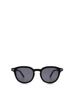 Ft0816 Shiny Black Solglasögon