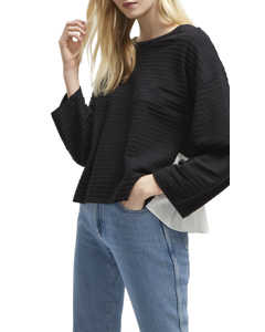 French Connection - Plain Long Sleeved Sweater - Woman