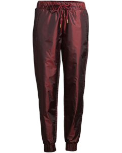 Track Pants Lightweight Burgundy