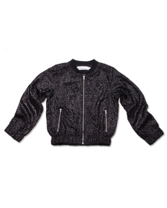Sparkle Jacket Black Sequins