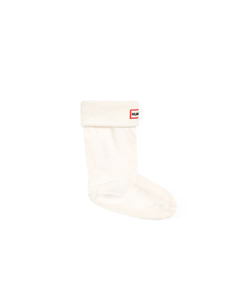 Hunter Kids Boot Sock  Cream