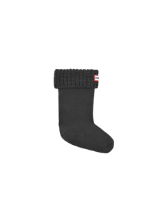 Hunter Kid Half Cardig Boosock  Black