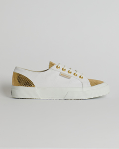 Superga 2750 Cotleasnake White-gold 902