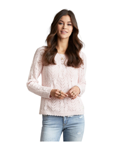 Fabulosa Sweater Soft Rose