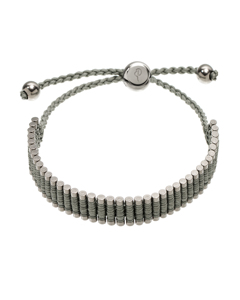 Patron Bracelet Grey/shiny Steel