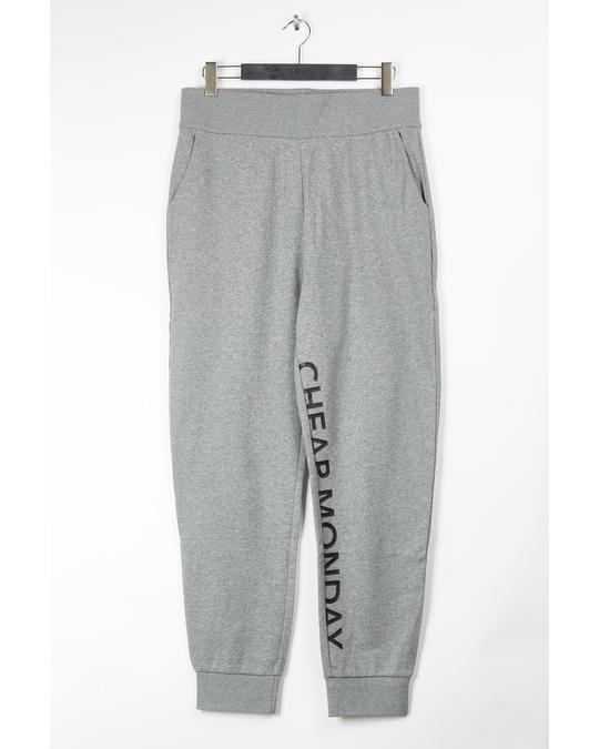 Cheap Monday Common Sweatpants Cut Logo Grey Ml