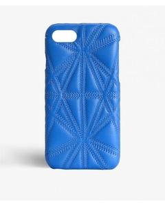 Iphone 6/6s Triangolo Nappa Azzurro