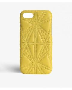 Iphone 6/6s Triangolo Nappa Limone