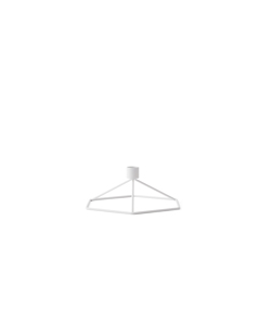 Pov Candleholder Table. White