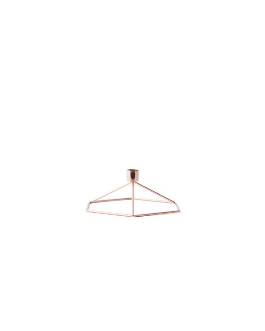 Menu Pov Candleholder Table. Copper