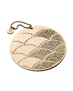 Decoration Charm 2-pack Dull Brass