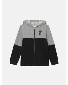Block Zip Hoodie Jr Hooded Sweatshirt Wi