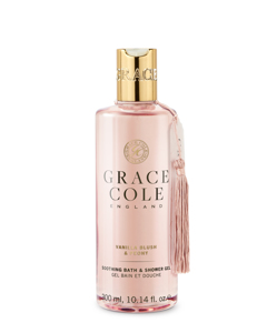 Grace Cole Vanilla Blush & Peony Bath & Shower Gel 300ml