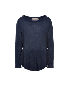 Pullover Frill Navy Night