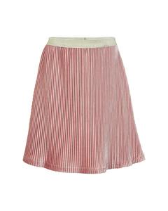 Skirt Velvet Plissé Rose Dusty