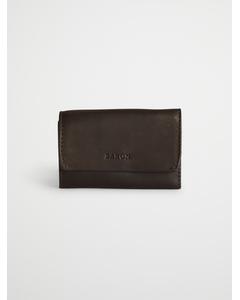 Key Holder Brown Leather Brown