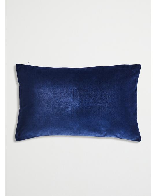 H&M HOME Basic Velvet Cushion Cover 30x50 Blue