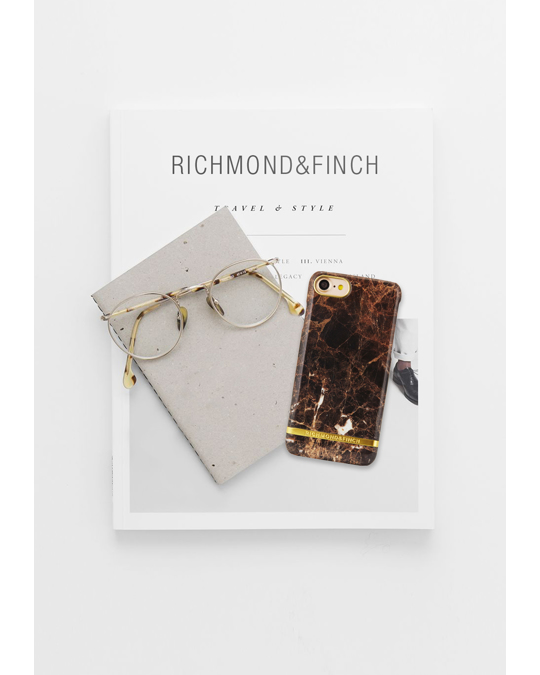Richmond & Finch Brown Marble - Iphone 7/8