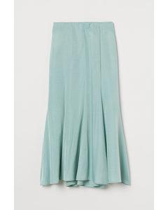 Long Skirt Mint Green