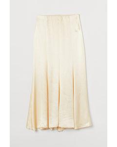 Long Skirt Light Yellow