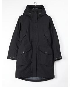 Agnes Wns Coat Black