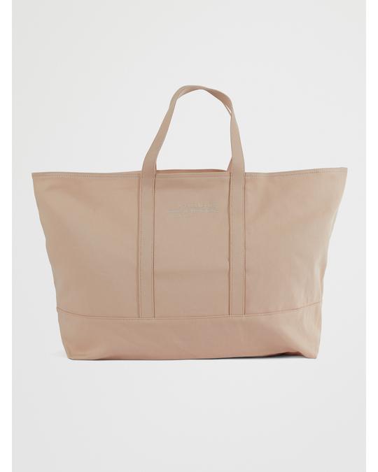 Arket Canvas Shopper Bag Orange