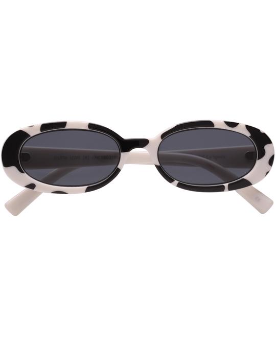 Le Specs Outta Love Safari W/ Smoke Mono Lens