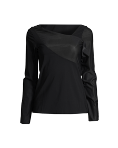 Casall Spiral Long Sleeve Black