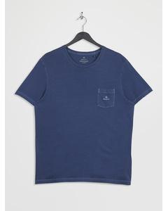 D2. Sunfaded Ss T-shirt Insignia Blue
