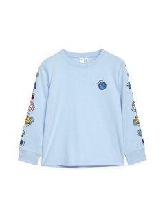 Long Sleeve T-shirt Light Blue