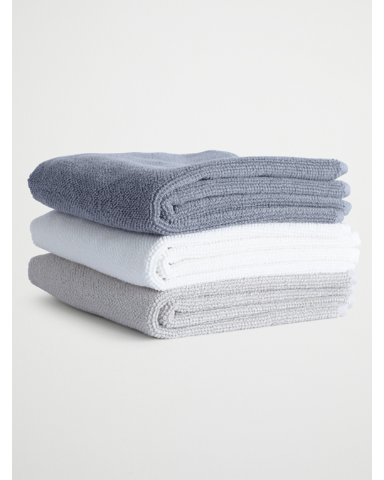 AFOUND OBJECTS Bath Towel Grey